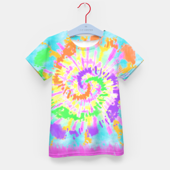 Thumbnail image of colorful mood Kid's t-shirt, Live Heroes
