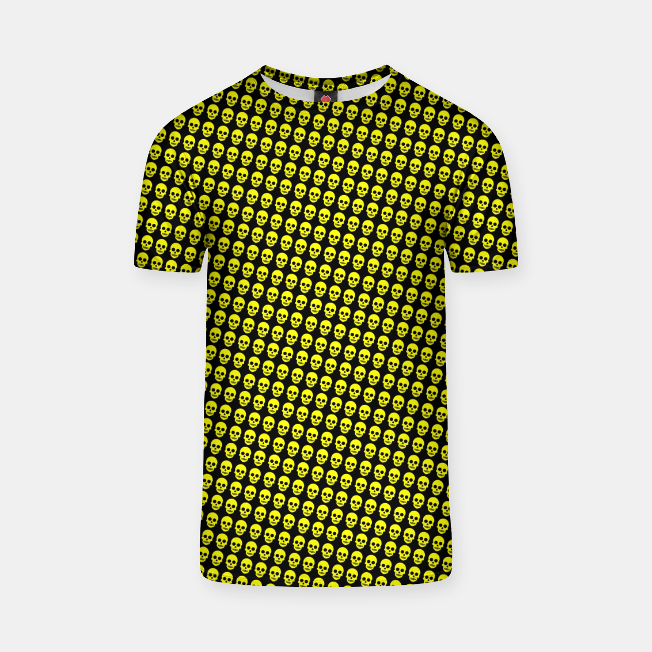 Image of SKULLs yellow Camiseta - Live Heroes