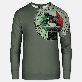 Thumbnail image of Italy Venice Stamp Unisex sweatshirt, Live Heroes