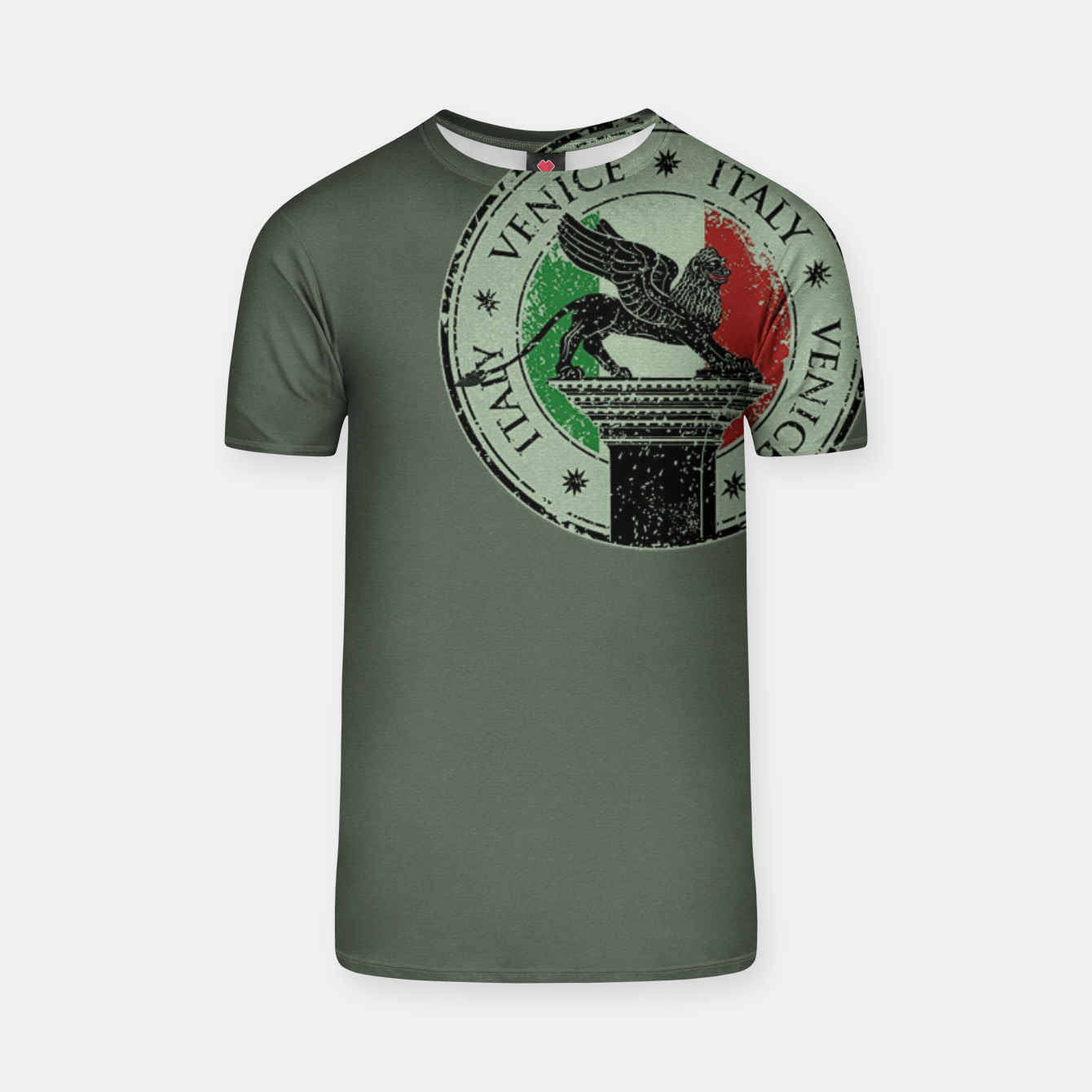 Image de Italy Venice Stamp T-Shirt - Live Heroes