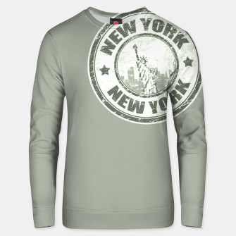 New York Stamp Unisex sweatshirt miniature