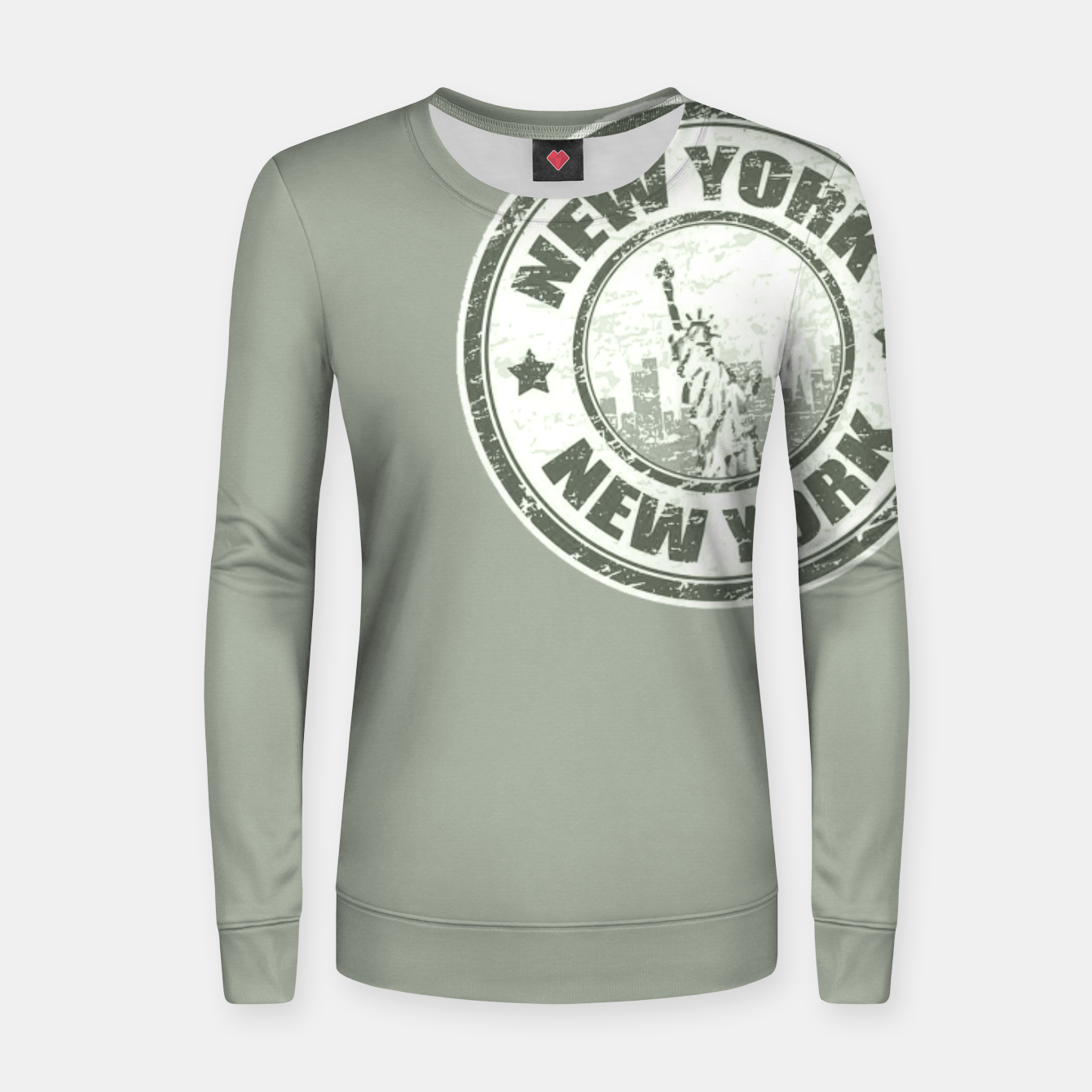 Image de New York Stamp Frauen sweatshirt - Live Heroes