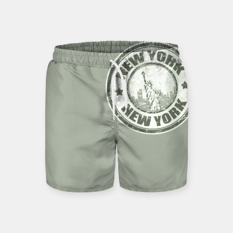 New York Stamp Badeshorts miniature
