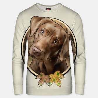 Miniatur Young Labrador - Graphic Style Unisex sweatshirt, Live Heroes