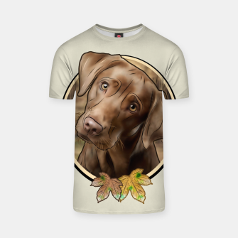 Miniatur Young Labrador - Graphic Style T-Shirt, Live Heroes