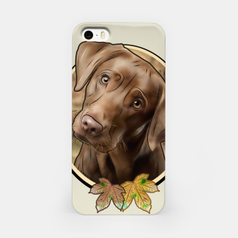 Thumbnail image of Young Labrador - Graphic Style iPhone-Hülle, Live Heroes