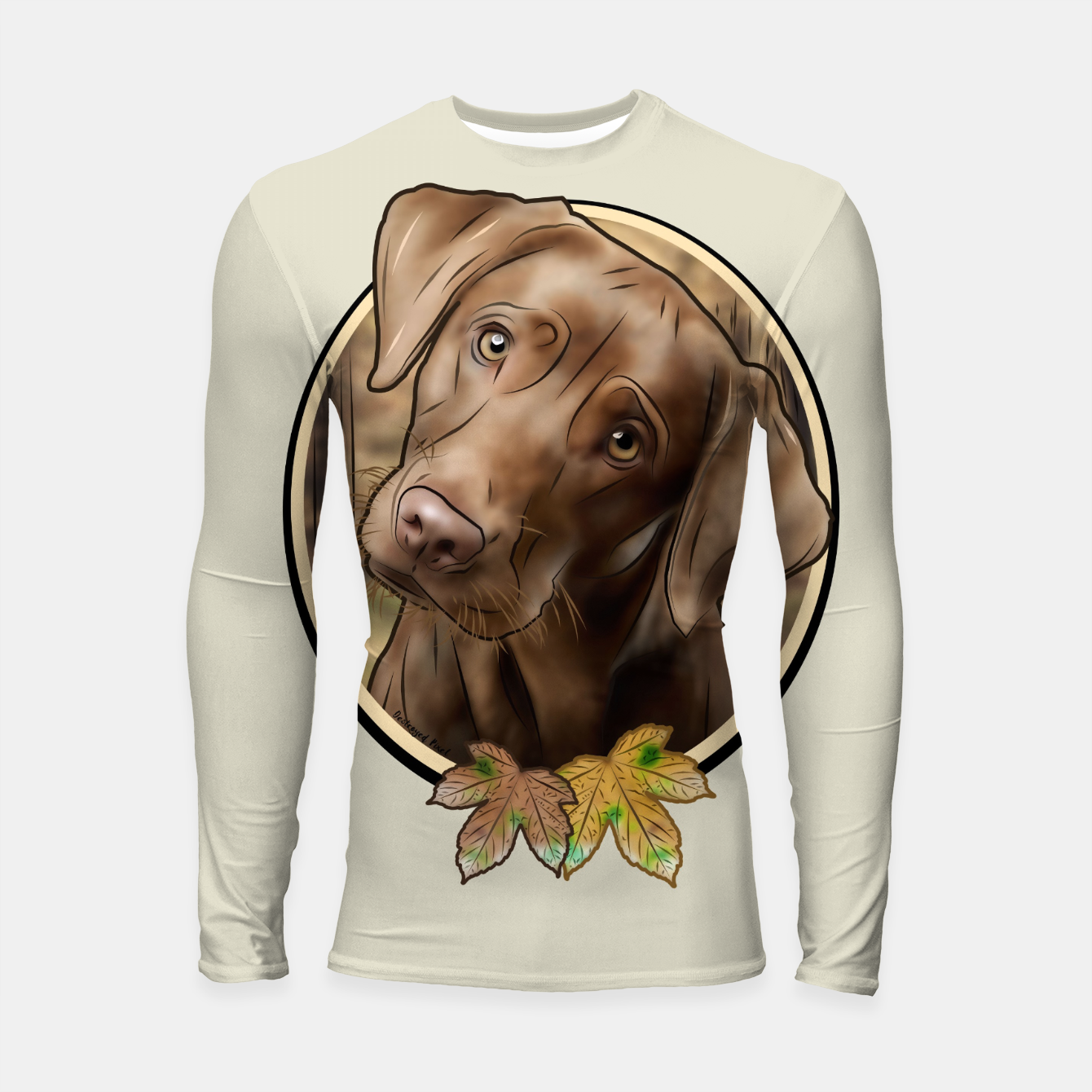 Foto Young Labrador - Graphic Style Longsleeve rashguard - Live Heroes