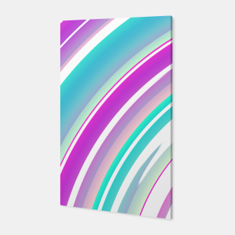 Miniature de image de Abstract Purple Teal Spiral Canvas, Live Heroes