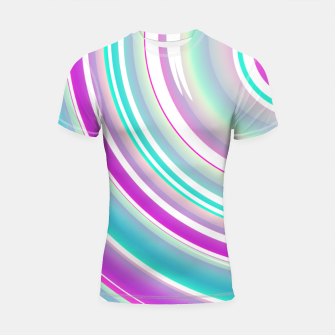 Miniature de image de Abstract Purple Teal Spiral Shortsleeve rashguard, Live Heroes