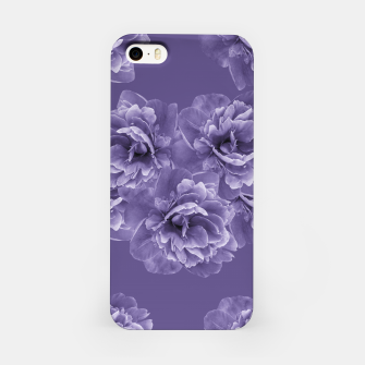 Ultra Violet Peony Flower Bouquet #1 #floral #decor #art iPhone-Hülle thumbnail image