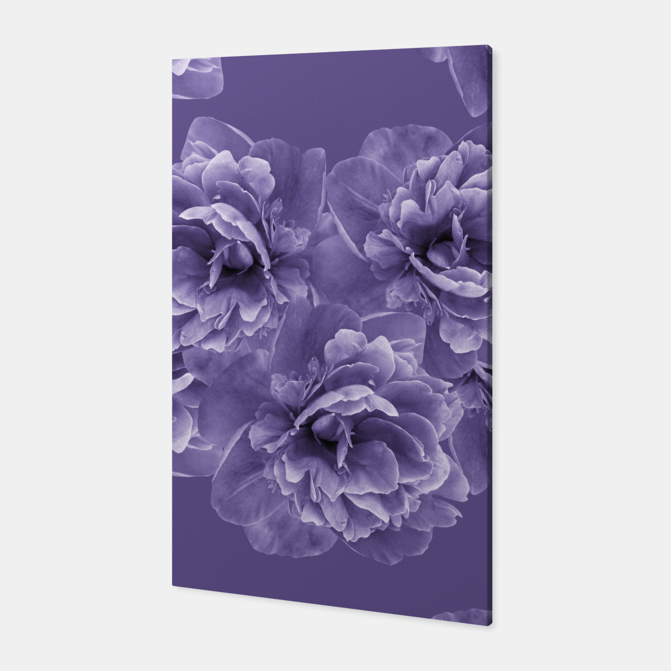 Image of Ultra Violet Peony Flower Bouquet #1 #floral #decor #art Canvas - Live Heroes