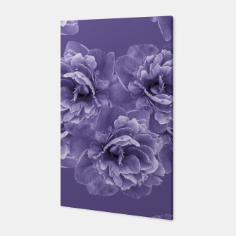 Miniature de image de Ultra Violet Peony Flower Bouquet #1 #floral #decor #art Canvas, Live Heroes