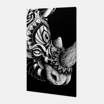 Miniature de image de Rhino Ornate Canvas, Live Heroes