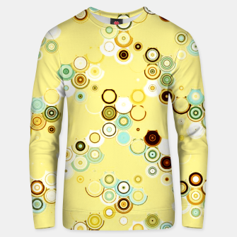 Thumbnail image of pastel geometric abstract pattern Unisex sweater, Live Heroes