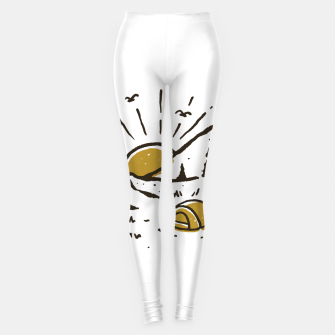 Thumbnail image of Sunrise Mountain Leggings, Live Heroes