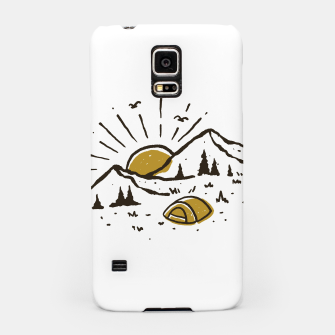 Sunrise Mountain Samsung Case Bild der Miniatur