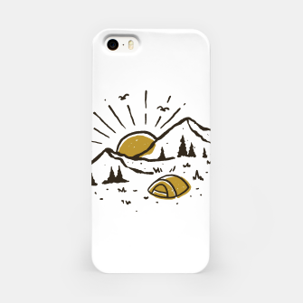 Sunrise Mountain iPhone Case Bild der Miniatur