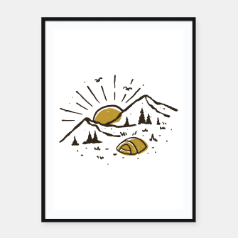 Sunrise Mountain Framed poster thumbnail image