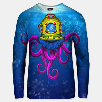 Thumbnail image of AN OCTOPUS! / UN PULPO! Sudadera unisex, Live Heroes