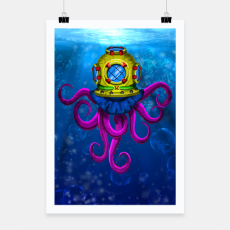 Thumbnail image of AN OCTOPUS! / UN PULPO! Cartel, Live Heroes