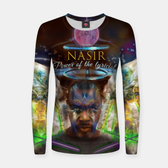 Thumbnail image of NAS - Ether - lyrical power  Women sweater, Live Heroes