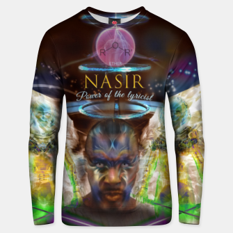 Thumbnail image of NAS - Ether - lyrical power  Hoodie Unisex sweater, Live Heroes