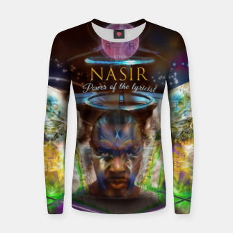 Thumbnail image of NAS - Ether - lyrical power  Hoodie Women sweater, Live Heroes