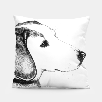 Thumbnail image of Beagle dog pillow, Live Heroes