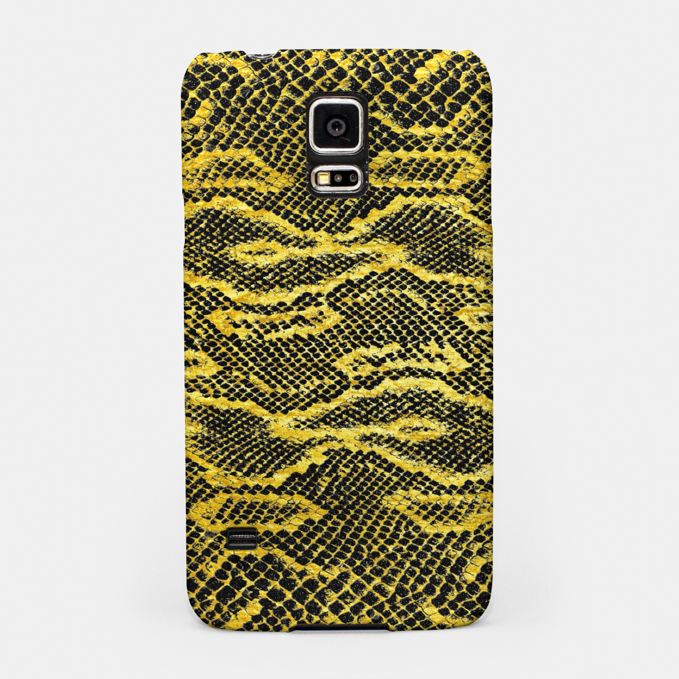 Zdjęcie Black and Gold Snake Skin Samsung Case - Live Heroes