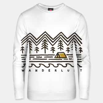 Wanderlust Unisex sweater miniature