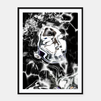 Thumbnail image of Girl Tattoo Cat  Affiche et cadre, Live Heroes