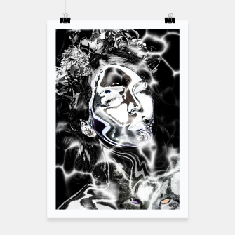 Thumbnail image of Girl Tattoo Cat  Affiche, Live Heroes