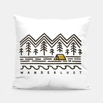 Wanderlust Pillow miniature
