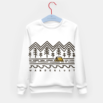 Thumbnail image of Wanderlust Kid's sweater, Live Heroes