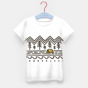 Wanderlust Kid's t-shirt miniature