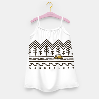 Wanderlust Girl's dress Bild der Miniatur