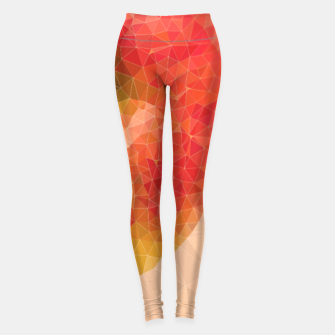 Miniature de image de Knife Through Apple Leggings, Live Heroes