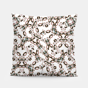 Thumbnail image of Luxury Modern Fractal Print Pillow, Live Heroes