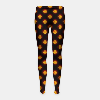 Thumbnail image of Metatron's Matrix Warm Girl's leggings, Live Heroes