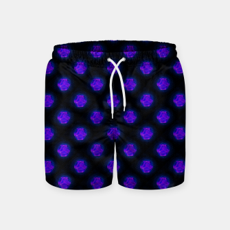 Metatrons Matrix Cool Swim Shorts Bild der Miniatur