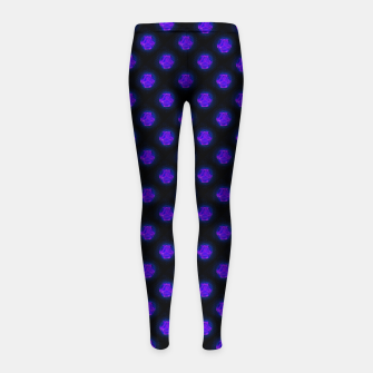 Metatrons Matrix Cool Girl's leggings Bild der Miniatur