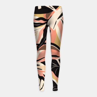 Miniature de image de Tropical modern graphic I Leggings para niña, Live Heroes