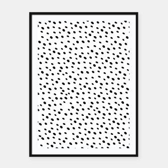 Thumbnail image of Cheetah Animal Print Glam #1 #dots #pattern #decor #art  Plakat mit rahmen, Live Heroes