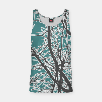Miniatur Nature Vector Style Illustration Tank Top, Live Heroes