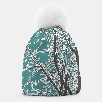 Thumbnail image of Nature Vector Style Illustration Beanie, Live Heroes