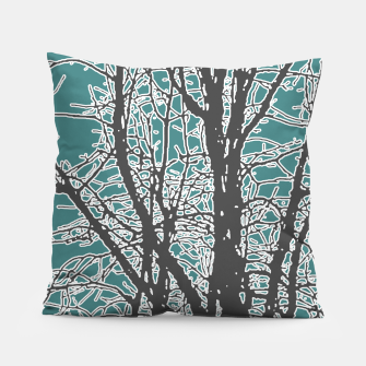Thumbnail image of Nature Vector Style Illustration Pillow, Live Heroes