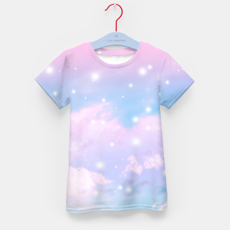 Thumbnail image of Pastel Cosmos Dream #4 #decor #art  T-Shirt für kinder, Live Heroes