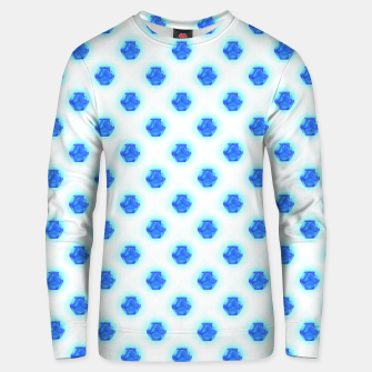 Metatrons Matrix Cool Blue Unisex sweater thumbnail image