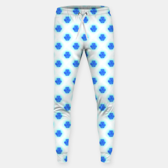 Metatrons Matrix Cool Blue Sweatpants Bild der Miniatur