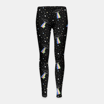 Thumbnail image of Aliens Girl's leggings, Live Heroes